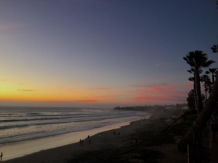 2.14.16 Pacific Beach PB Sunset San Diego, California