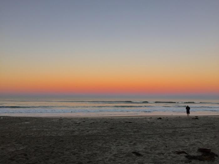 2.16.16 Sunrise Pacific Ocean, Pacific Beach, San Diego