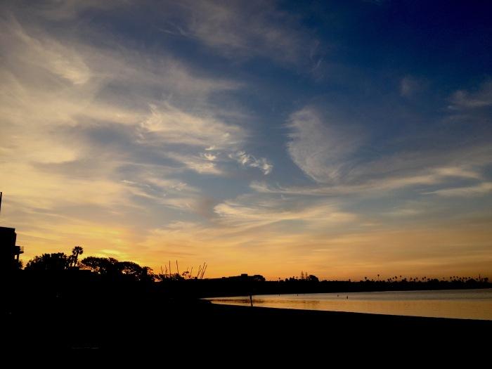 2.23.16 Mission Bay Sunrise, San Diego