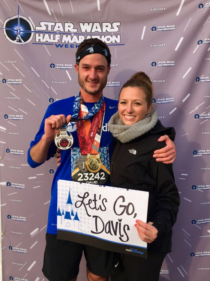 Half Marathon Finisher Disneyland