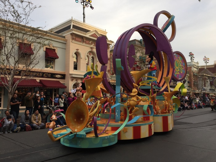 Mickey's Parade - Disneyland