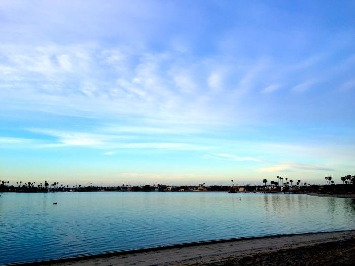 Mission Bay Winter Sunrise