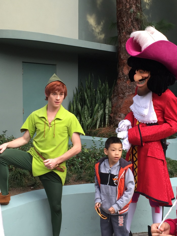 Peter Pan and Captian Hook - Disneyland