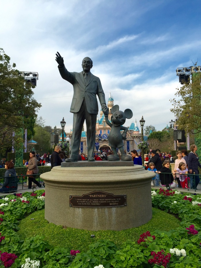 Walt and Mickey - Partners - Disneyland