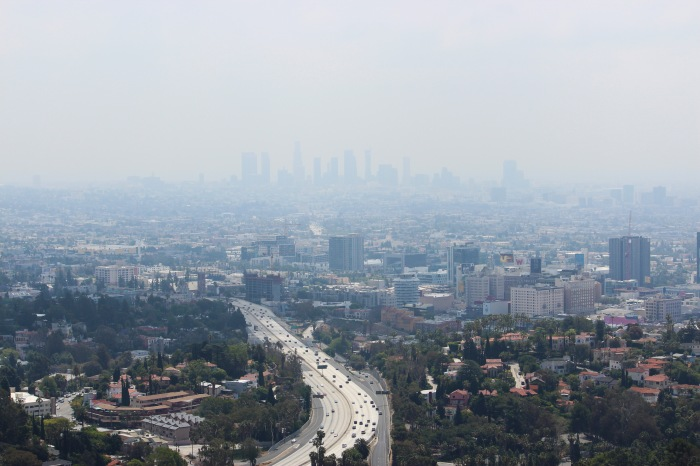 Hazy Los Angeles
