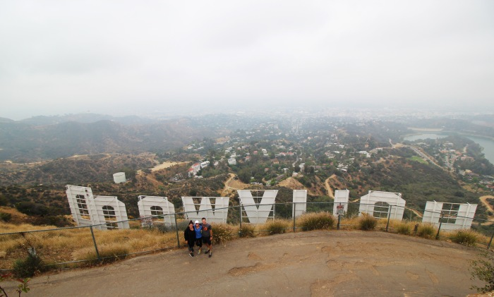 Hollywood Sign Hike with Friends