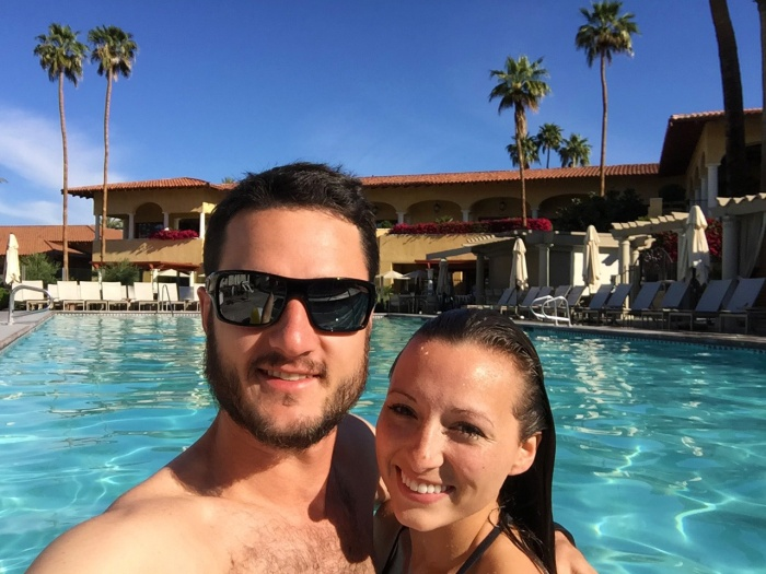 Pool Day with my Love - Palm Springs