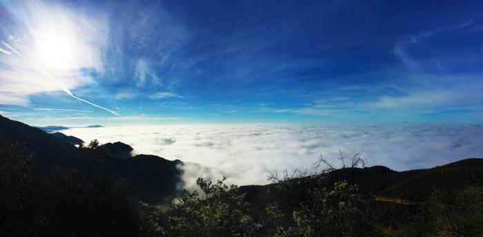 Hiking Above the Clouds - Montecito Peak