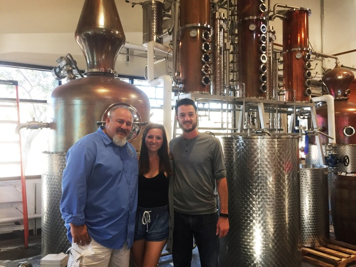 Las Vegas Distillary - George, Britt, David