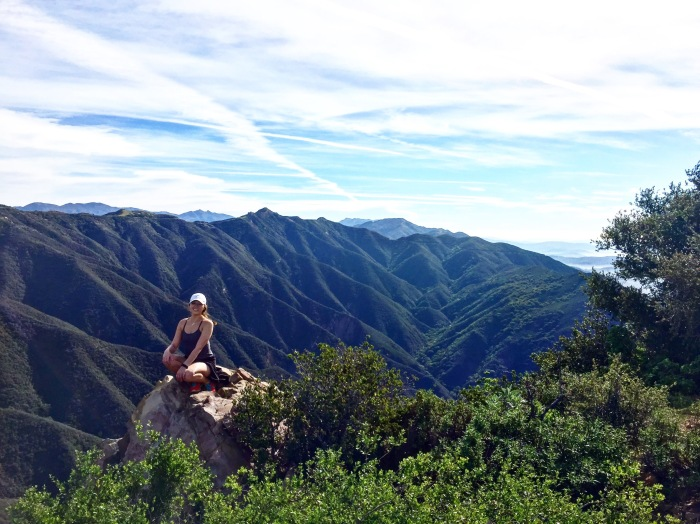 Over looking the SB mountains - California