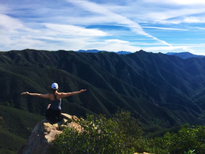 Santa Barbara Montecito Mountains Springtime